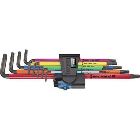 Wera 967/9 XL Multicolour HF Kuusiokoloavainsarja