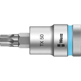"""Wera 8767 C HF Torx-hylsy 1/2"""""""" TX 50, 60 mm pitkä"""