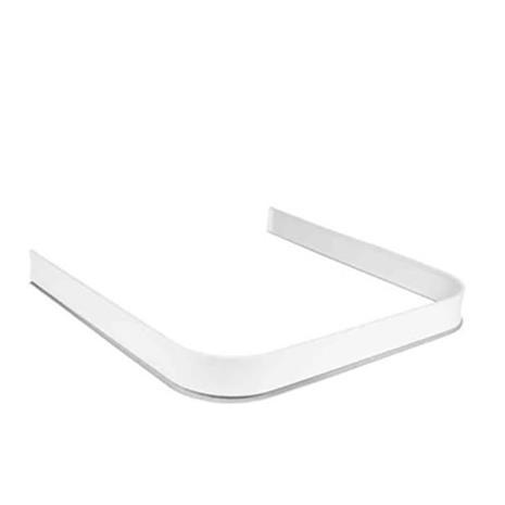 Leijma 8107 Suihkukynnys u-muotoinen, 92x92x92 cm, valkoinen