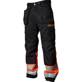 Vidar Workwear V500452D120 Työhousut oranssi/musta D120
