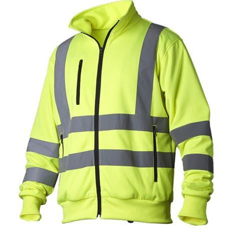 Vidar Workwear V70091009 Neulepaita huomiotakki, keltainen XXXL