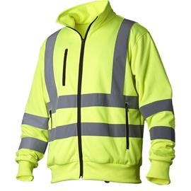 Vidar Workwear V70091007 Neulepaita huomiotakki, keltainen XL