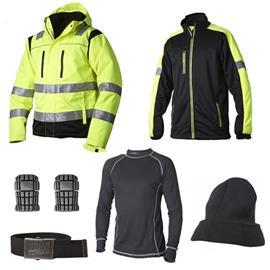 Vidar Workwear Gul Talvipaketti Koko XL