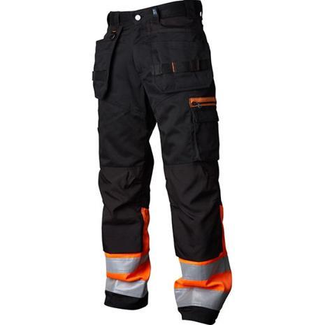 Vidar Workwear V500452C154 Työhousut oranssi/musta C154