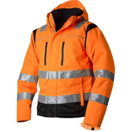 Vidar Workwear V40092508 Talvitakki oranssi/musta XXL