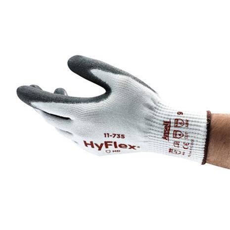 Ansell HyFlex 11-735 Käsineet Viiltosuojattu, PU, Intercept/nailon Koko 6