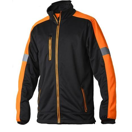 Vidar Workwear V70085209 Neulepaita oranssi/musta XXXL