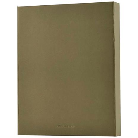 Monograph File Binder, Army Green
