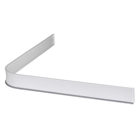 Leijma 8101 Suihkukynnys kulma, valkoinen 92x92 cm
