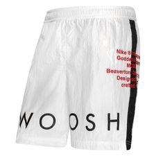Nike Shortsit NSW Woven Swoosh - Valkoinen/Musta/Punainen