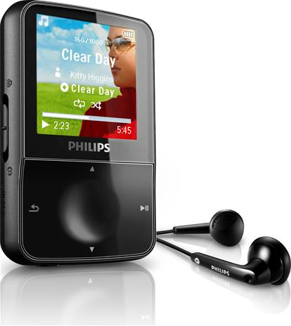 Philips GoGear Vibe 4 GB, MP3-soitin