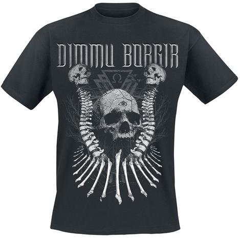 Dimmu Borgir - Skull N Bones - T-paita - Miehet - Musta