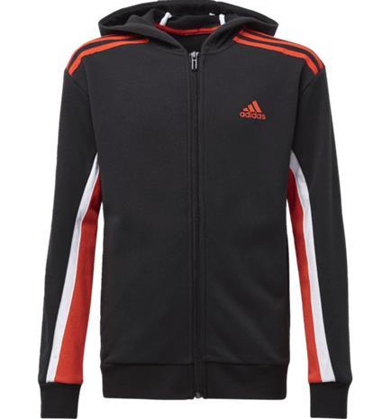 Adidas J BOLD FULL-ZIP HOODIE BLACK
