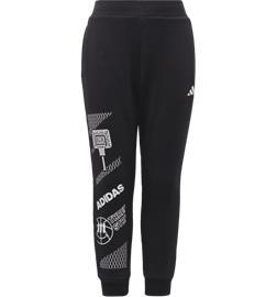 Adidas K FLEECE JOGGERS BLACK