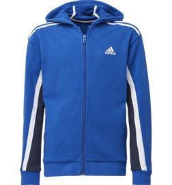 Adidas J BOLD FULL-ZIP HOODIE ROYAL BLUE