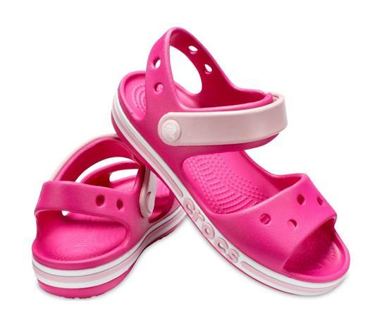 """Crocsâ""""¢ lasten vapaa-ajan kengät Bayaband Sandal Kid's, pinkki 32"""