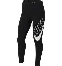 Nike G NSW FAVORITES GX LEGGINGS BLACK/WHITE