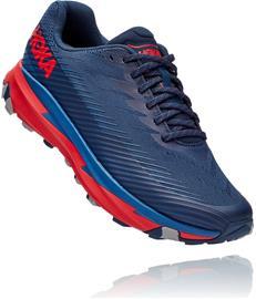 Hoka One One Torrent 2 Running Shoes Men, moonlit ocean/high risk red