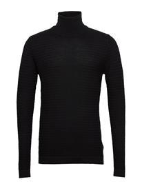 Solid 6192005, Knit - Shad Roller Knitwear Turtlenecks Musta Solid BLACK