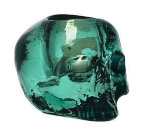 Kosta Boda Still Life Skull, kynttilälyhty