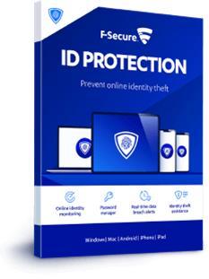 F-Secure ID Protection (1 vuosi 5 laitetta), tietoturvaohjelmisto