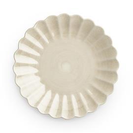 Mateus Oyster Plate 20 cm, Sand