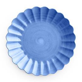 Mateus Oyster Plate 28 cm, Light Blue