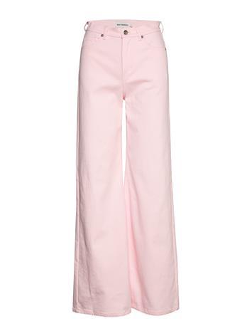Marimekko Luotaus Solid Trousers Leveälahkeiset Farkut Vaaleanpunainen Marimekko PINK