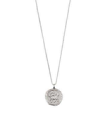 Pilgrim Sagittarius Zodiac Sign Accessories Jewellery Necklaces Dainty Necklaces Hopea Pilgrim SILVER PLATED