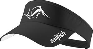 sailfish Visor, black, Miesten hatut, huivit ja asusteet
