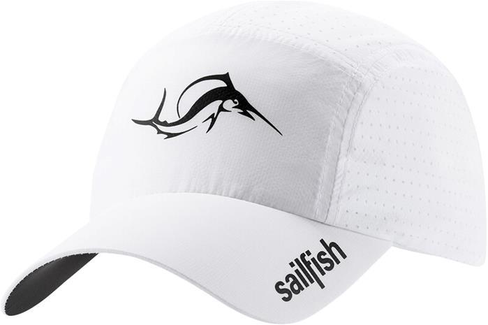 sailfish Cooling Running Cap, white, Miesten hatut, huivit ja asusteet