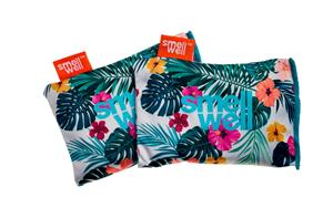 SmellWell Active Freshener Inserts for Shoes and Gear, hawaii floral