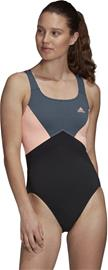 adidas SH3.ro 4Anna Swimsuit Women, black/legacy blue