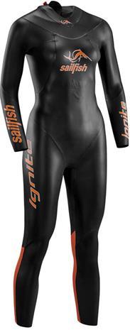 sailfish Ignite Wetsuit Women, black/orange