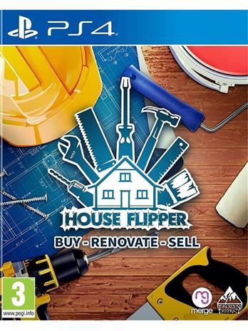 House Flipper, PS4 -peli
