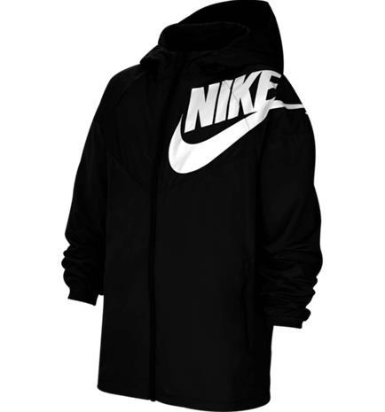 Nike J NSW WINDRUNNER BLACK/BLACK