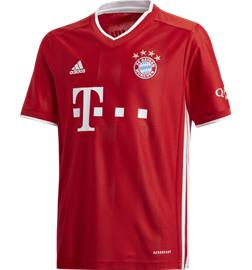 Adidas FC BAYERN HOME JSY Y FCB TRUE RED