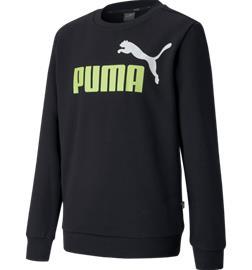 Puma J ESS 2 COL SWEAT FL CREW PUMA BLACK