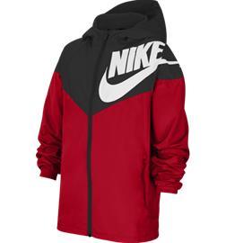 Nike J NSW WINDRUNNER BLACK/RED