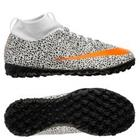 Nike Mercurial Superfly 7 Academy TF CR7 Safari - Valkoinen/Oranssi/Musta Lapset LIMITED EDITION