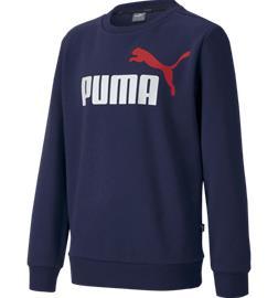 Puma J ESS 2 COL SWEAT FL CREW PEACOAT