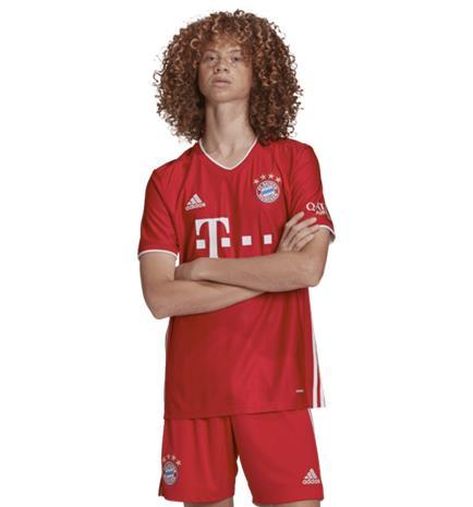 Adidas M FC BAYERN HOME JSY FCB TRUE RED