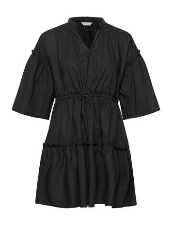 Marimekko Huilaus Solid Dress Lyhyt Mekko Musta Marimekko BLACK