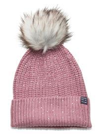 Superdry Erin Embelished Beanie Accessories Headwear Beanies Vaaleanpunainen Superdry MISTY ROSE