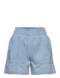 Selected Femme Slfnovo Mw Shorts W Shorts Denim Shorts Sininen Selected Femme LIGHT BLUE