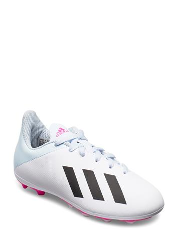 adidas Performance X 19.4 Fxg J Shoes Sports Shoes Football Boots Valkoinen Adidas Performance FTWWHT/CBLACK/SHOPNK
