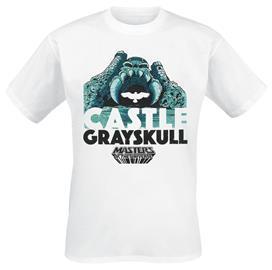 Masters Of The Universe - Castle Grayskull - T-paita - Miehet - Valkoinen