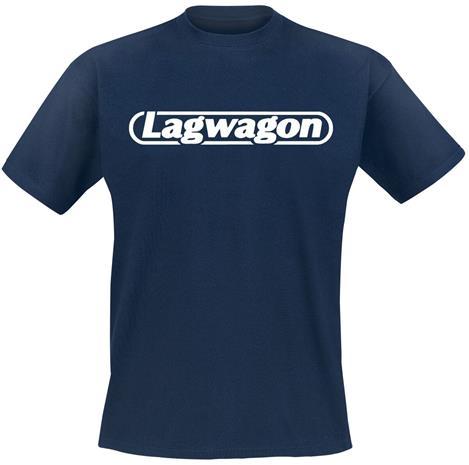 Lagwagon - Putting Music - T-paita - Miehet - Laivastonsininen