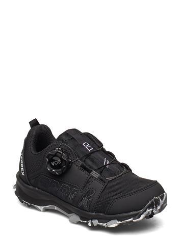 adidas Performance Terrex Agravic Boa K Shoes Sports Shoes Running/training Shoes Musta Adidas Performance CBLACK/FTWWHT/GRETHR