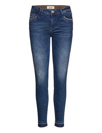 MOS MOSH Sumner Jewel Jeans Tiukat Farkut Sininen MOS MOSH BLUE
